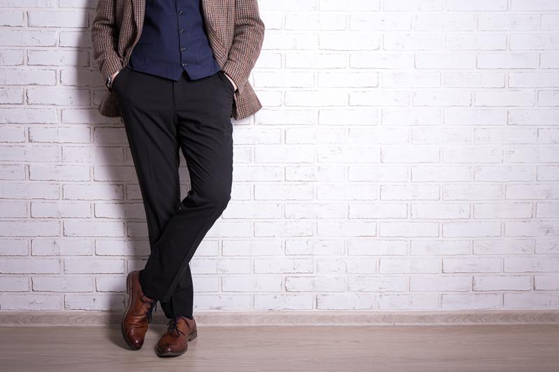 modelo calca alfaiataria masculina